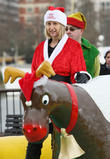 Carol McGiffin and Santa Claus