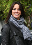 Andrea McLean outside the ITV studios  Featuring:...