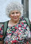 miriam margolyes at the itv studios london england