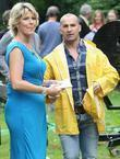 Louie Spence and Ruth Langsford at the ITV...