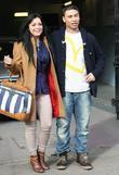 Shona McGarty and Ricky Norwood at the ITV...
