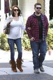 Jack Osbourne and his pregnant fiancee Lisa Stelly...