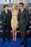 Tom Cruise, Rosamund Pike and Christopher McQuarrie