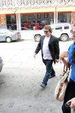 Actor Jack Black  seen heading to the...