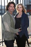 Elizabeth Berkley and Greg Lauren