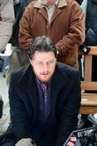 James McAvoy  on set filming his new...