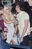Frankie Cocozza and Amelia Lily Jamie Stevens' salon...