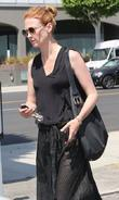 January Jones out and about in Beverly Hills...