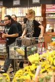 January Jones, Whole Foods and Pasadena