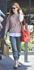 January Jones out and about in Silverlake...