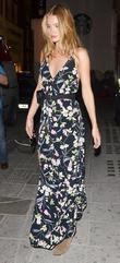Rosie Huntington Whiteley spotted out and about in...