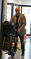 Jason Statham, Rosie Huntington-whiteley and Heathrow Airport
