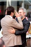 Sam Mendes and Javier Bardem
