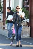 Jennifer Garner, Seraphina Affleck and Brentwood