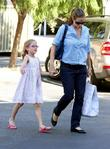 Jennifer Garner, Violet Affleck and Brentwood