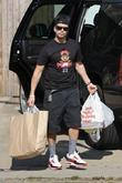 Vinny Guadagnino  out and about on location...