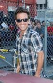 David Faustino outside the 'Jimmy Kimmel Live!' studios...