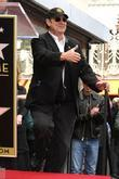 Dan Aykroyd and Star On The Hollywood Walk Of Fame