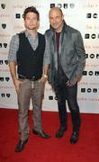 Jackson Rathbone and John Varvatos