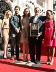 Laura Wiggins, Emmy Rossum, John Wells, Justin Chatwin and Walk Of Fame