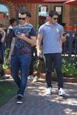 Kevin Jonas and Nick Jonas