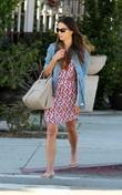 Jordana Brewster out and about in West Hollywood...