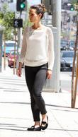 Jordana Brewster shops in West Hollywood Los Angeles,...
