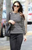 Jordana Brewster stops by a juice bar in...