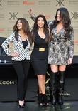 Khloe Kardashian Odom, Kim Kardashian and Kourtney Kardashian