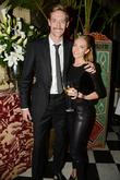 Peter Crouch and Abbie Clancy