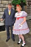 Stephen Fry and Grayson Perry