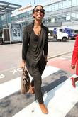 Kelly Rowland arriving at Heathrow Airport London, England