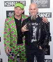 corey taylor from slipknot and scott ian from anthr