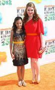 Amandla Stenberg and Jennifer Stone 2012 Kids Choice...