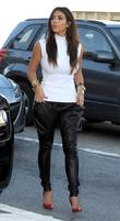Kim Kardashian arrives at a Vespa store with...