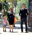 Mason, Kourtney Kardashian and Scott Disick