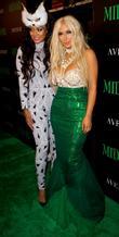 La La Anthony and Kim Kardashian