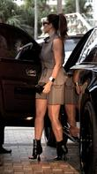 Kim Kardashian shopping in Miami Beach Miami Beach,...
