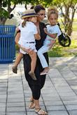 Kim Kardashian, Mason Disick and Sophia Pippen
