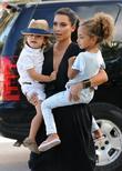 Kim Kardashian, Sophia Pippen and Mason Disick