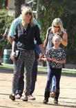 Heidi Klum and Leni Samuel spend the day...