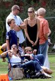 Martin Kristen and Heidi Klum