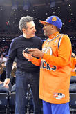 john turturro spike lee celebrities courtside at th