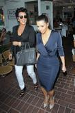 kris jenner, Kanye West and Kim Kardashian