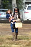 Kyle Richards, Portia, Mr. Bones Pumpkin Patch and Beverly Hills