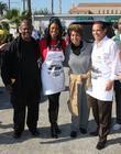 Jackson, Mayor Antonio Villaraigosa, Omarosa Manigault, Marla Gibbs
