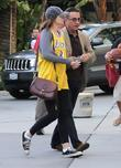 Andy Garcia and his daughter Celebrities arrive at...