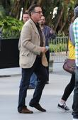 Andy Garcia Celebrities arrive at the Staples Centre...