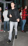 Adam Sabbagh leaves the Staples Centre after watching...