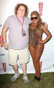 Fortune Feimster and Lil' Kim LA Pride 2012...